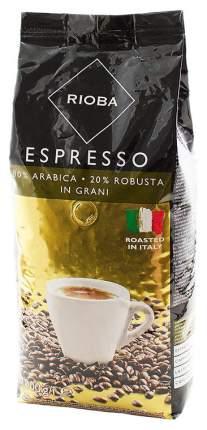 Кофе Rioba espresso натуральный жареный в зернах 1 кг