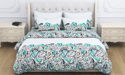 Комплект постельного белья Amore Mio хохлома евро