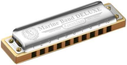 Губная гармоника диатоническая HOHNER Marine Band Deluxe 2005/20 A