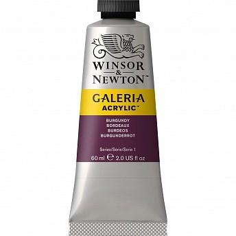 Акриловая краска Winsor&Newton Galeria бордовый 60 мл