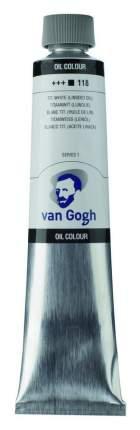 Масляная краска Royal Talens Van Gogh №118 белила титановые на льняном масле 200 мл