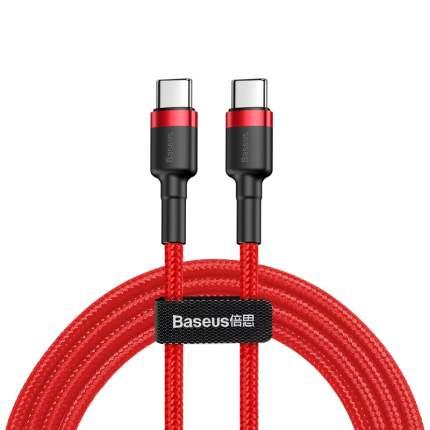 Кабель Baseus Cafule Type-C 1m Red/Black/Red