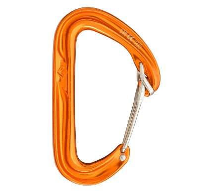 Карабин Black Diamond Hoodwire Carabiner оранжевый