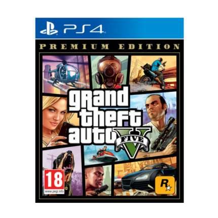 Игра для PlayStation 4 Grand Theft Auto V. Premium Edition