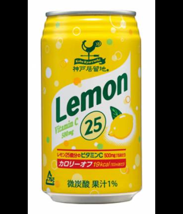 Лимонад Томинага лимон газированный жестяная банка 350 г