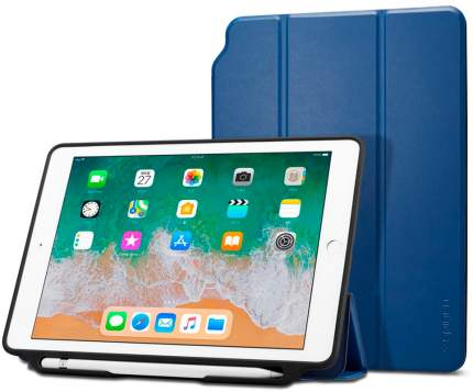 Чехол Spigen Smart Fold 2 для iPad Blue