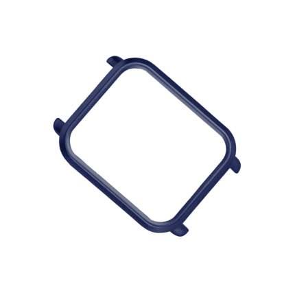 Рамка Mijobs PC чехол защиты оболочки для Amazfit Bip Dark Blue