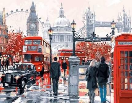 Алмазная живопись Цветной Очарование Лондона LG049