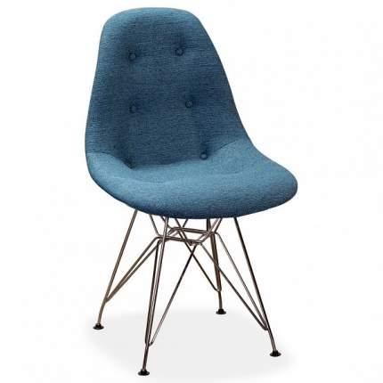 Стул R-Home Eames CR RST_86019081hSCR, хром/синий