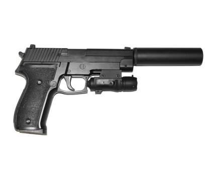 Страйкбольный пружинный пистолет Galaxy (кал. 6 мм) G.26A (SIG226)