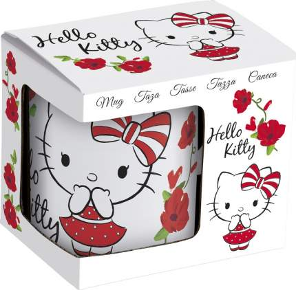 Кружка керамическая Stor в подарочной упаковке (№5, 325 мл). Hello Kitty, арт. 46205