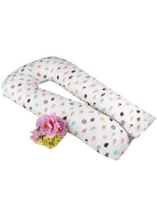 Подушка для беременных AmaroBaby U-образная 340х35 (ЭСКИМО)