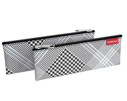 Пенал конверт ErichKrause® 220х90мм Black&White