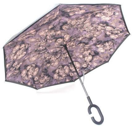 Зонт-трость UpBrella Серые розы