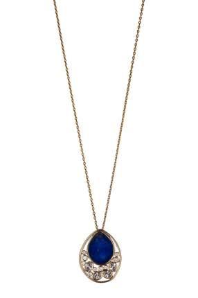 Колье женское Fiore Luna 16A21NK002XU17 золотистое/синее