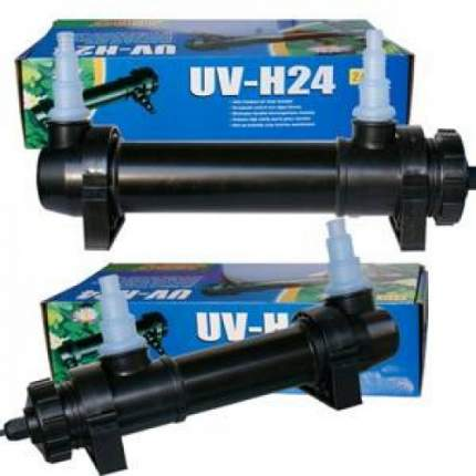 Ультрафиолетовый стерилизатор для аквариумов Jebo UV-H, до 2500л, 24 Вт