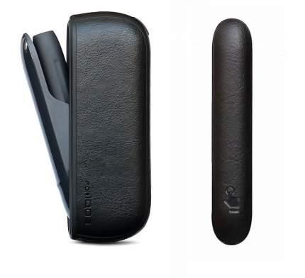 Комплект панель и чехол для IQOS 3 черный