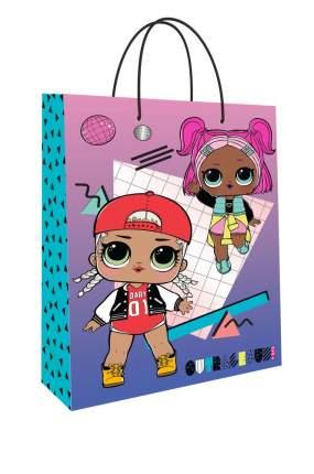 Пакет подарочный большой ND Play L.O.L. Surprise! розово-фиолетовый