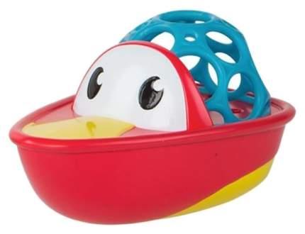 Игрушка для купания Oball Лодочка 84683-M Красная