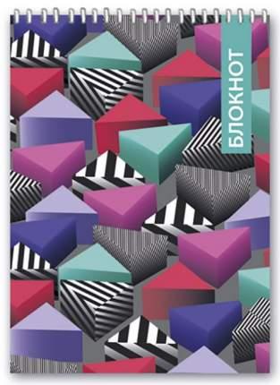 Блокнот Феникс+ Цветные треугольники А6 80л 46033/5
