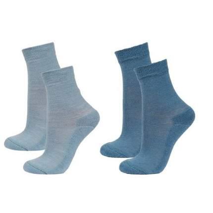 Комплект носков 2 пары Janus, цв. бирюзовый, 30-34 р-р