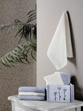 Полотенце Flori Цвет: Светло-Серый (30х30 см - 6 шт)