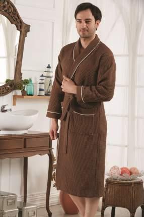 Банный халат KARNA Cheyenne коричневый xxxL