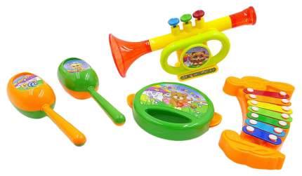 Набор музыкальных инструментов, 5 предметов, 24.5x30x7см