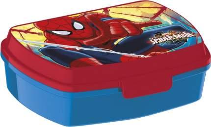 Ланч-бокс пластиковый Stor. Человек-паук Красная паутина, артикул 33474