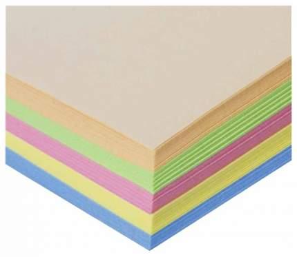 Бумага цветная Staff Color Пастель, А4, 80 г/м2, 250 л, 5 цветов по 50 листов пастель...