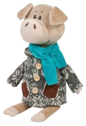 """Мягкая игрушка """"Свин Витя в пальто с оленями"""", 27 см"""