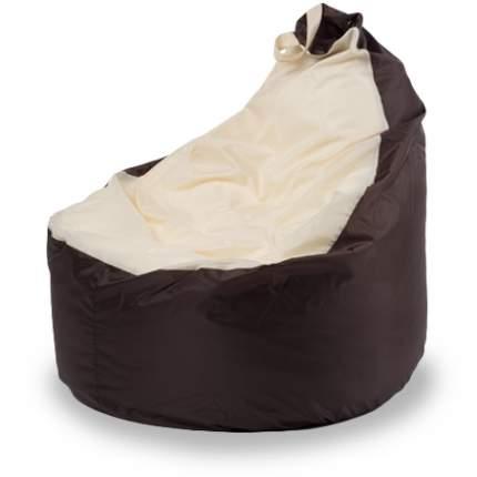 Внешний чехол Кресло-мешок комфорт  145x90x90, Оксфорд Коричневый и бежевый