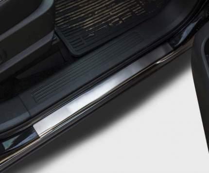 Комплект накладок на внутренние пороги Souz-96 для Renault Duster 2012-2019