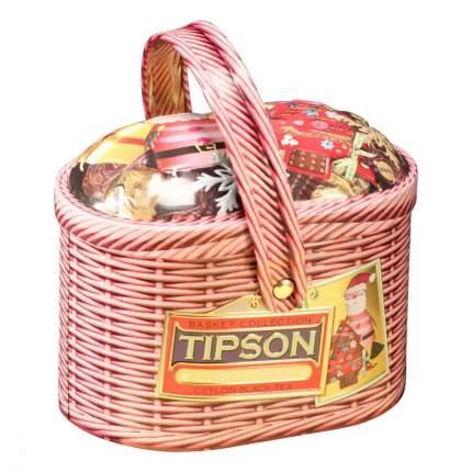 Чай Tipson Лукошко - Рождество черный с добавками 80 г