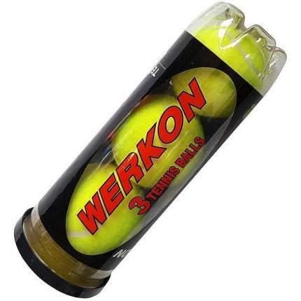 Мяч теннисный R18204 3 шт., желтый
