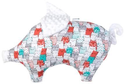 Подушка Крошка Я 45×30 см, белый
