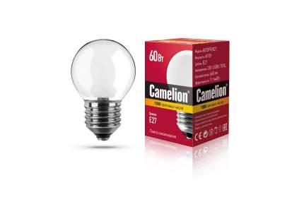 Лампа накаливания Camelion шар матовый 60W Е27