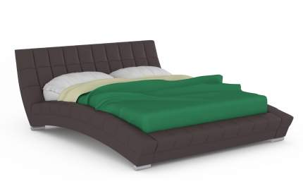 Кровать интерьерная Mobi Оливия 200х250х88 см, коричневый