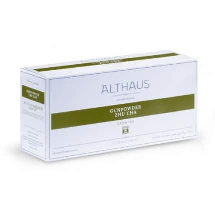 Чай зеленый в пакетах для чайника Althaus Gunpowder Zhu Cha 20*4 г