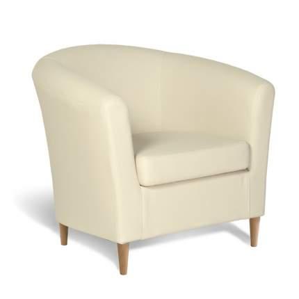 Кресло Евро Лайт экокожа бежевый