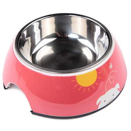 Миска для домашних животных Bobo, красная, 150 мл