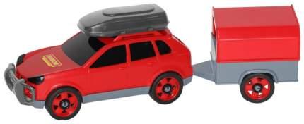 Автомобиль легковой Полесье с прицепом в сеточке
