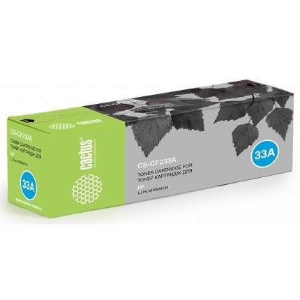 Картридж для лазерного принтера CACTUS CS-CF233A черный