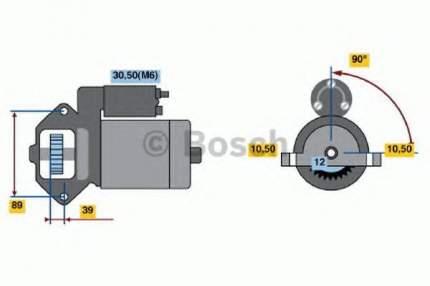Стартер Bosch 0986021810