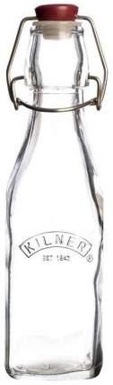 Бутылка Kilner Сlip Top квадратная 250 мл