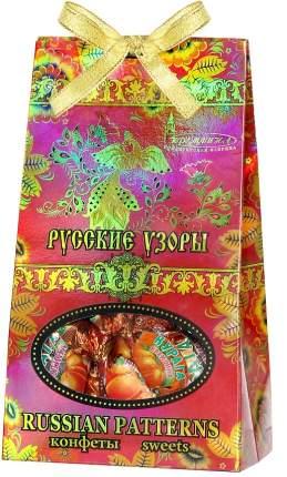 Конфеты русские узоры курага Кремлина шоколадная с грецким орехом 230 г