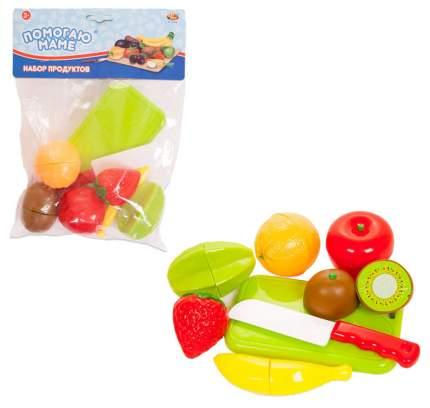 Набор продуктов игрушечный ABtoys Помогаю Маме для резки на липучках PT-00468