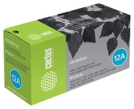 Картридж для лазерного принтера Cactus CS-Q2612A черный