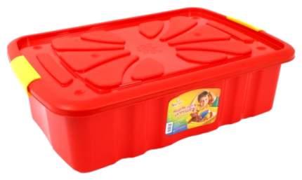 Ящик для игрушек Полимербыт 300 на колесах 600х400х170 мм