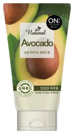 Пенка для умывания On The Body Natural Avocado 120 мл